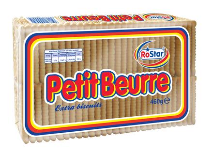 ROSTAR PETIT BEURRE BISCUITI 460G
