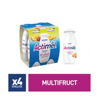ACTIMEL MULTIFRUIT 4*100G