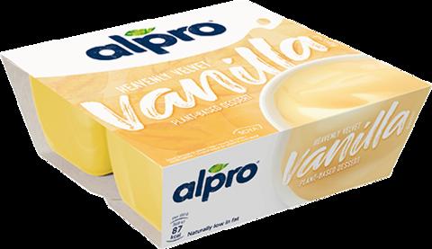 ALPRO DESERT SOIA CU AROMA DE VANILIE 4*125G
