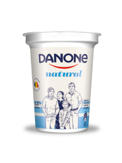 DANONE NATURAL 390G