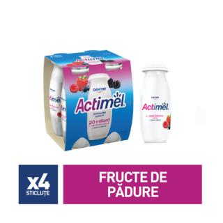 ACTIMEL FRUCTE DE PADURE 4*100G