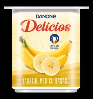 Danone Delicios Iaurt cu Banane 125g