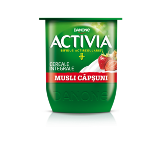 ACTIVIA MUSLI CAPSUNI 125G