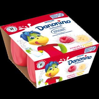 DANONINO BANANE/ZMEURA 4*50G