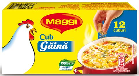 MAGGI CUB GAINA 120G