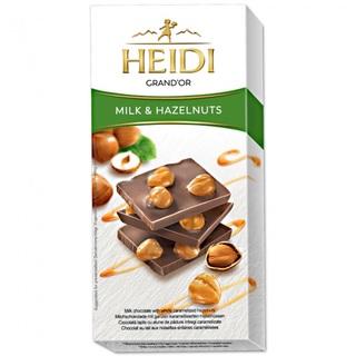 HEIDI GRAND'OR HAZELNUTS&MILK 80G