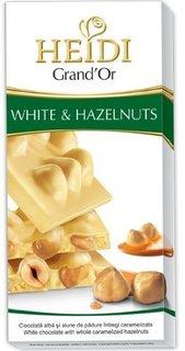 HEIDI GRAND'OR WHITE&HAZELNUTS 80G