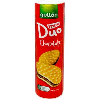 GULLON BISCUITI SANDWICH MEGA DUO CACAO 500G