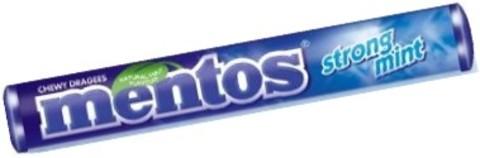 MENTOS DRAJEURI GUMATE STRONG MINT 37.5G
