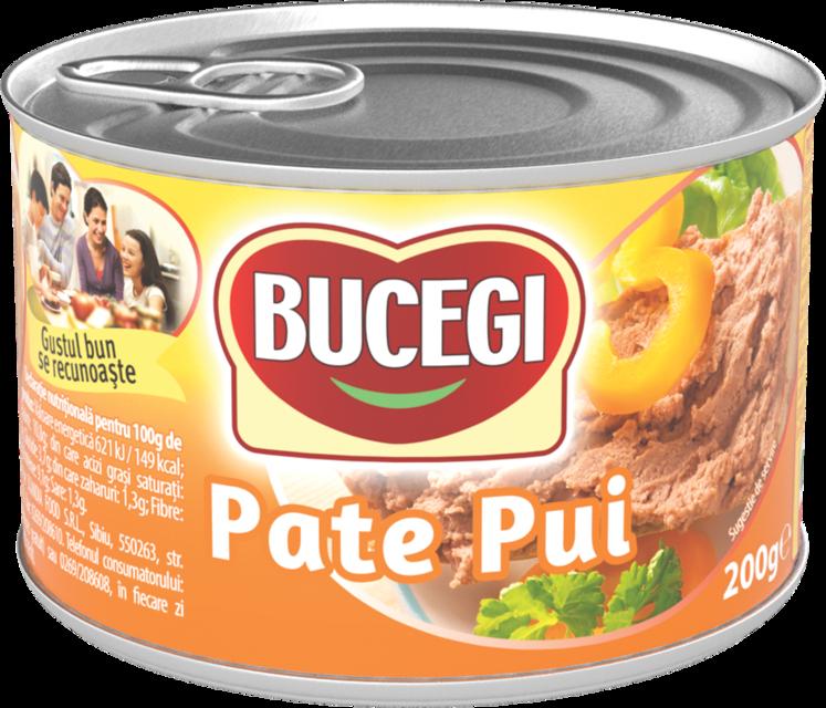 BUCEGI PATE PASARE 200G