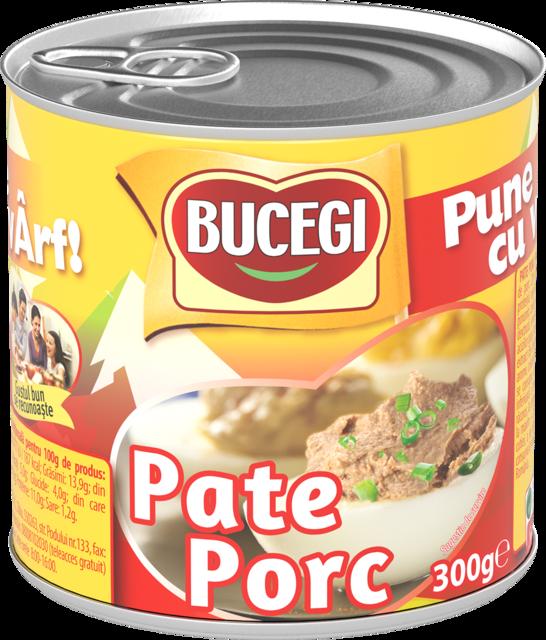 BUCEGI PATE PORC 300G