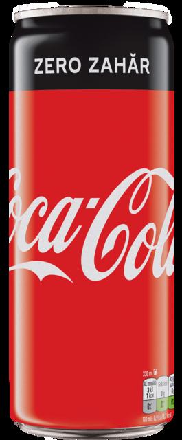 COCA COLA ZERO DOZA 0.33L