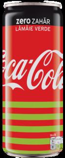 COCA COLA ZERO LIME DOZA 0.33L