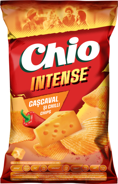 CHIO CHIPS INTENSE CASCAVAL&CHILI 130G