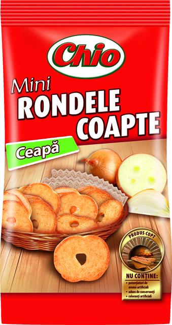 CHIO MINI RONDELE COAPTE CU CEAPA 70G