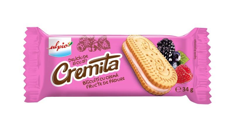 ULPIO CREMITA VANILIE CREMA FRUCTE PADURE 34G