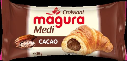 MAGURA CROISSANT CU CREMA DE CACAO 80G