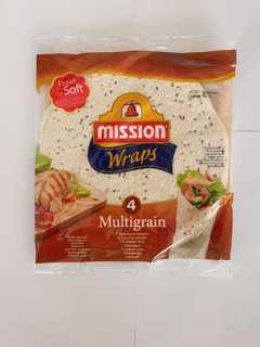 MISSION WRAPS TORTILLA MULTICEREALE 245G