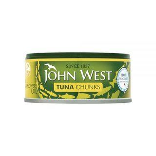 JOHN WEST TON BUCATI IN ULEI FL.SOARELUI 145G