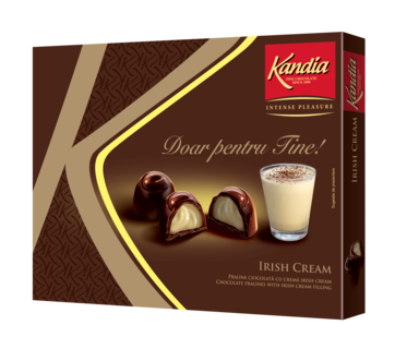 KANDIA PRALINE CIOCOLATA AM.CREMA IRISH 104.5G