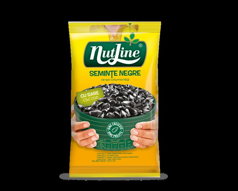 NUTLINE SEMINTE F.S.NEGRE CU SARE 100G