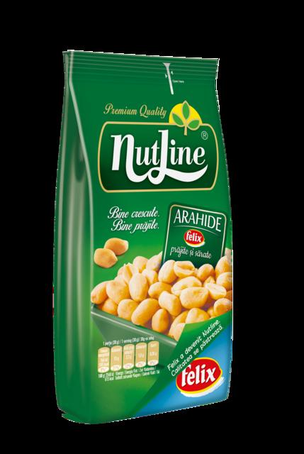 NUTLINE ARAHIDE PRAJITE 400G