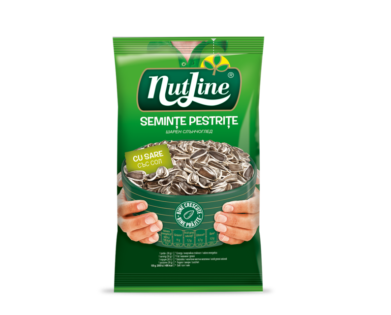 NUTLINE SEMINTE F.S.PESTRITE CU SARE 100G