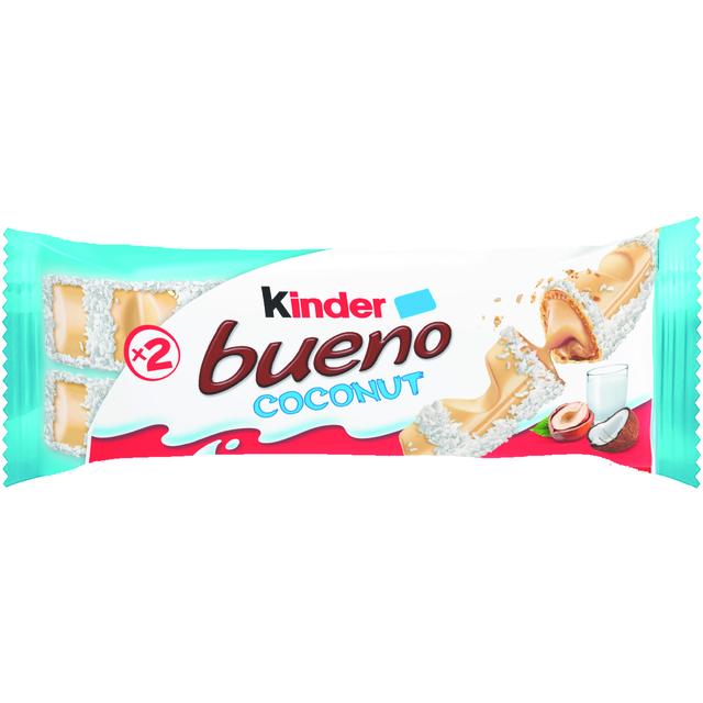 KINDER BUENO WHITE COCOS T2 39G