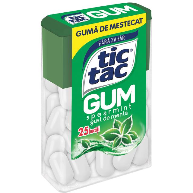 TIC TAC GUM SPEARMINT 12.1G