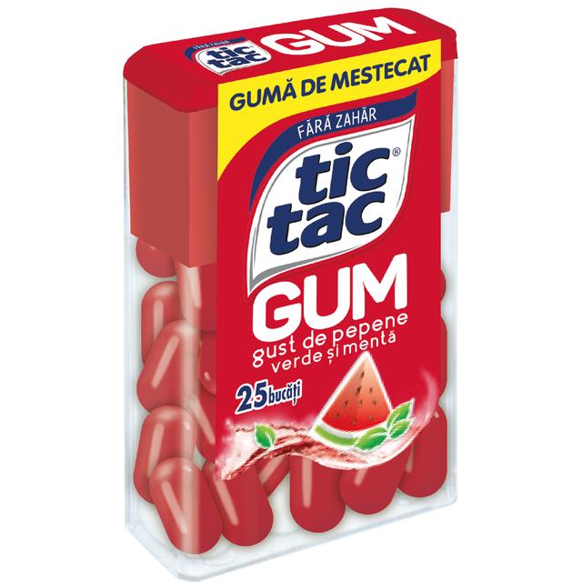 TIC TAC GUM WATERMELON 12.1G