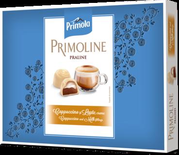 PRIMOLINE PRALINE CIOCOLATA ALBA CAPPUCINO 105G