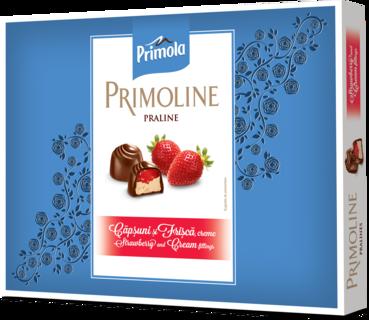 PRIMOLINE PRALINE LAPTE CAPSUNI 103.5G