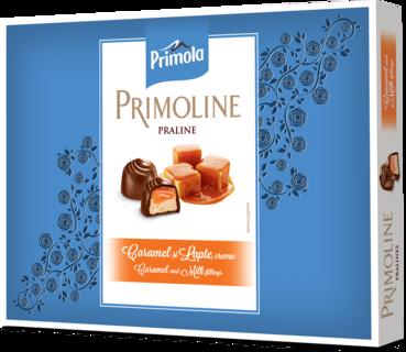 PRIMOLINE PRALINE LAPTE CARAMEL FRISCA 104.5G