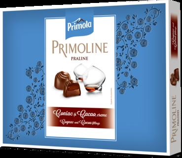 PRIMOLINE PRALINE LAPTE CONIAC 107G