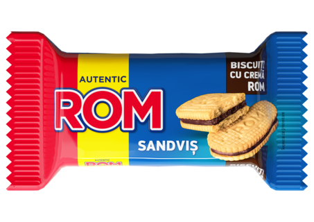 ROM SANDVIS DUBLU VANILIE ROM 36G