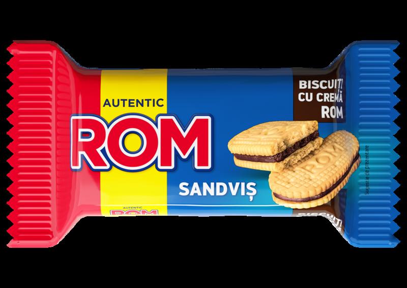 ROM SANDVIS DUBLU VANILIE SI ROM 36G