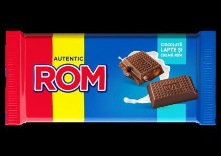 ROM CIOCOLATA LAPTE CREMA ROM 88G