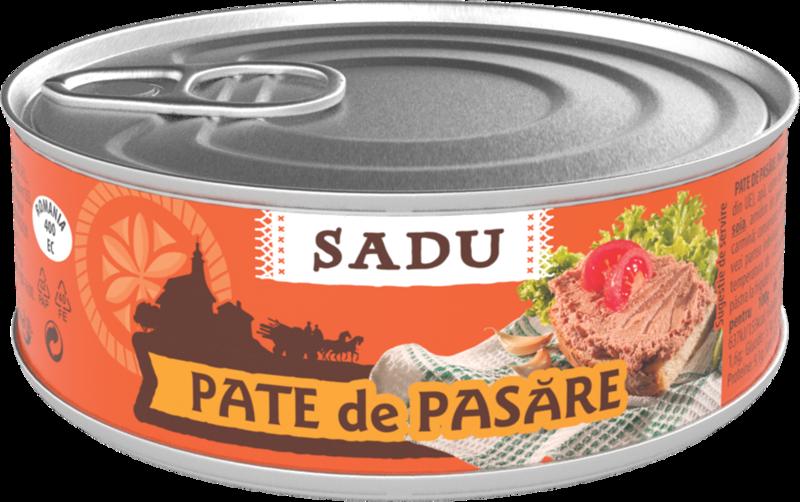SADU PATE TARANESC PASARE 100G