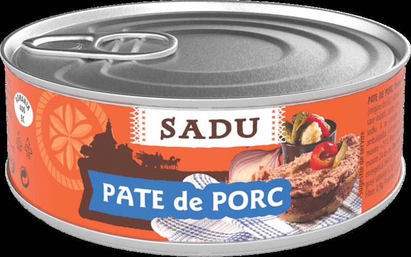 SADU PATE TARANESC PORC 100G