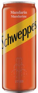 SCHWEPPES MANDARIN DOZA 0.33L