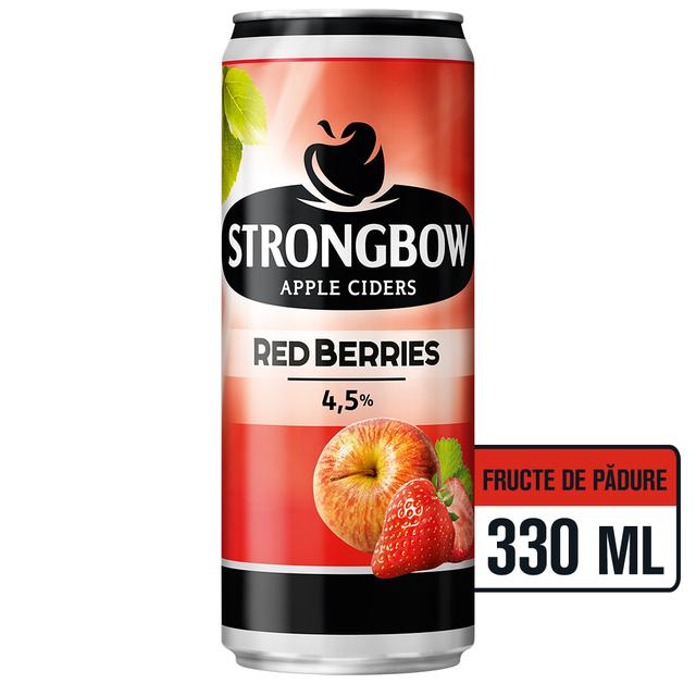 STRONGBOW RED BERRIES CIDRU DOZA 0.33L