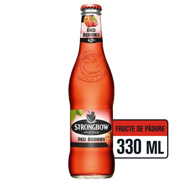 STRONGBOW RED BERRIES CIDRU STICLA 0.33L