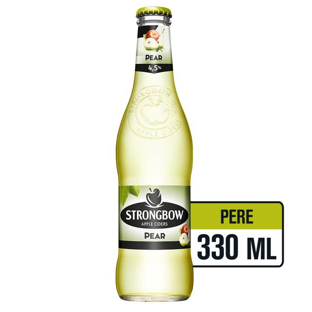STRONGBOW PERE CIDRU STICLA 0.33L