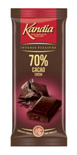 KANDIA CIOCOLATA AMARUIE 70% 80G