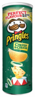 PRINGLES CHEESE&ONION 165G