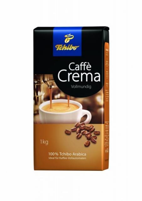 TCHIBO EXPRESSO CAFFE CREMA CAFEA BOABE 1KG