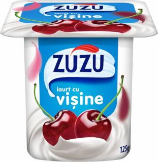 ZUZU IAURT CU VISINE 125G