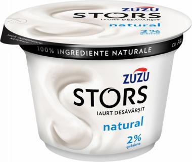 ZUZU STORS IAURT NATURAL 2% 150G