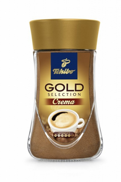 TCHIBO GOLD CREMA CAFEA INSTANT 90G