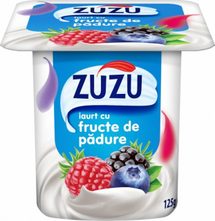 ZUZU IAURT CU FRUCTE DE PADURE 125G